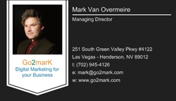 Go2marK - Business Card